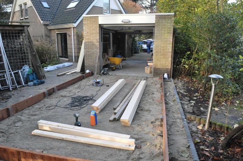 Stenen Garage Bouwen : Aanbouw garage berging uitterdijk