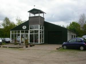camping gebouw