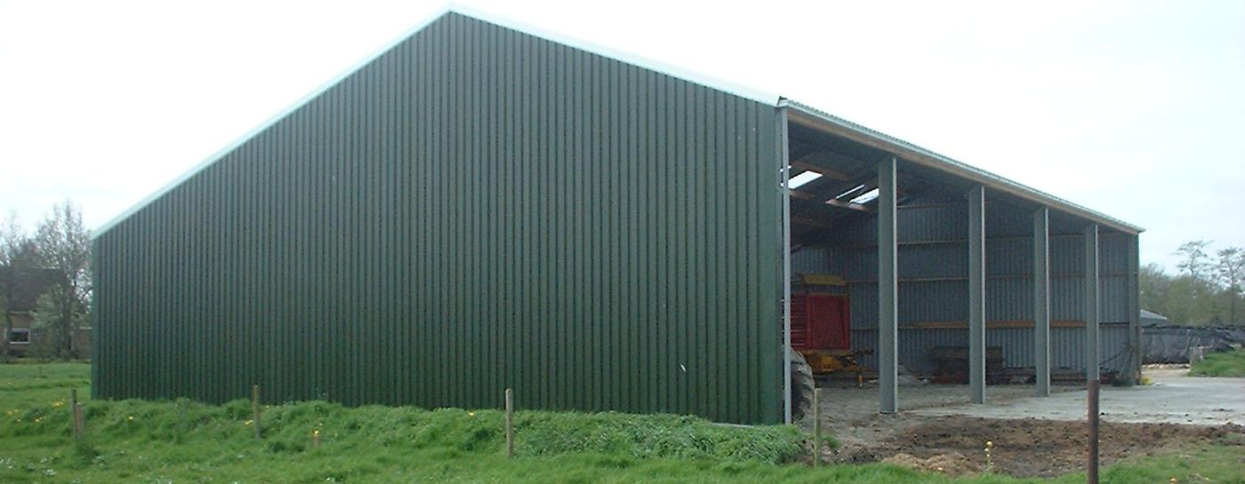 Uitterdijk Hout Staalbouw Loodsen Kapschuren Garages Maneges Stallen